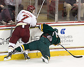 Isaac MacLeod (BC - 7), H.T. Lenz (Vermont - 11) - The Boston College Eagles defeated the visiting University of Vermont Catamounts 6-0 on Sunday, November 28, 2010, at Conte Forum in Chestnut Hill, Massachusetts.