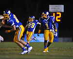 Oxford High's Cody Mills (29) vs. Lafayette High at Bobby Holcomb Field in Oxford, Miss. on Thursday, August 30, 2012. Oxford High won 19-0.