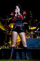The Scarlets supporting Bon Jovi at Rod Laver Arena, Melbourne, Australia, 10 December 2010