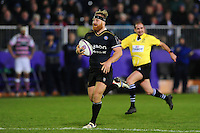 Ross Batty of Bath Rugby runs in an 80 metre try. European Rugby Challenge Cup match, between Bath Rugby and Cardiff Blues on December 15, 2016 at the Recreation Ground in Bath, England. Photo by: Patrick Khachfe / Onside Images
