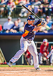 7 March 2013: Houston Astros infielder Brett Wallace in action during a Spring Training game against the Washington Nationals at Osceola County Stadium in Kissimmee, Florida. The Astros defeated the Nationals 4-2 in Grapefruit League play. Mandatory Credit: Ed Wolfstein Photo *** RAW (NEF) Image File Available ***