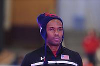SCHAATSEN: BERLIJN: Sportforum, 07-12-2013, Essent ISU World Cup, podium 1000m Men Division A, Shani Davis (USA), ©foto Martin de Jong