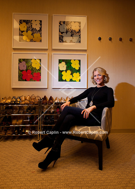 Megyn Kelly, host of America Live on Fox News in her New York offices. ..Photo by Robert Caplin.