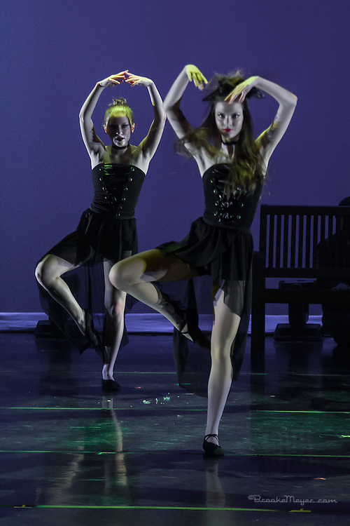 "3D Project Jazz Company, ""The Cracked Nut"", Sat. Matinee Performance, 19 Dec. 2015, Cary Arts Center, Cary, North Carolina."