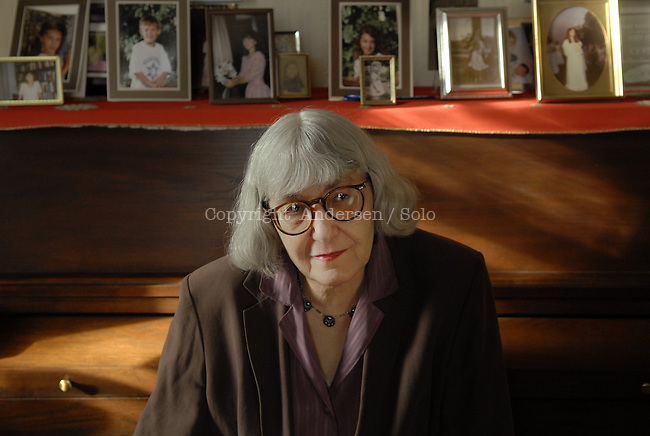 Cynthia Ozick at home in New Rochelle.