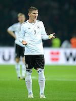 Fussball International  WM Qualifikation 2014   16.10.2012 Deutschland - Schweden Bastian Schweinsteiger (Deutschland)