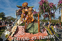 "Tournament of Roses Parade Floats Tournament Volunteers' Trophy - 2008, ""Festival of Flowers"""