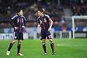 (L-R) Yasuhito Endo, Makoto Hasebe (JPN), FEBRUARY 29, 2012 - Football / Soccer : 2014 FIFA World Cup Asian Qualifiers Third round Group C match between Japan 0-1 Uzbekistan at Toyota Stadium in Aichi, Japan. (Photo by Takahisa Hirano/AFLO)