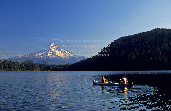 Lost lake near mount hood oregon pacific northwest model released