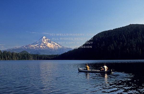 Lost lake near mount hood oregon pacific northwest model released