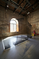 "13th Biennale of Architecture..Arsenale..Ellie Abrons, Adam Fure, Meredith Miller, Thom Moran, Catie Newell, Schaum/Shieh, ""13178 Moran Street"""