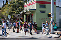 Austin's South Congress (SoCo) is bordered by South First, Dawson, Travis Heights, St. Edwards, Bouldin Creek, East Congress, and West Congress.