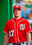 6 June 2009: Washington Nationals' pitcher Jordan Zimmermann walks the dugout prior to a game against the New York Mets at Nationals Park in Washington, DC. The Nationals defeated the Mets 7-1, marking pitcher John Lannan's first complete game of his career. Mandatory Credit: Ed Wolfstein Photo