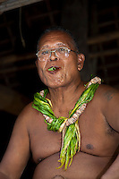 Chief Chewing Betel, Yap Micronesia (Photo by Matt Considine - Images of Asia Collection)