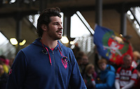 Stade Francais Paris Hugh Pyle enters the stadium<br /> <br /> Photographer Rachel Holborn/CameraSport<br /> <br /> European Rugby Challenge Cup Final - Gloucester Rugby v Stade Francais Paris - Friday 12th May 2017 - BT Murrayfield, Edinburgh<br /> <br /> World Copyright &copy; 2017 CameraSport. All rights reserved. 43 Linden Ave. Countesthorpe. Leicester. England. LE8 5PG - Tel: +44 (0) 116 277 4147 - admin@camerasport.com - www.camerasport.com