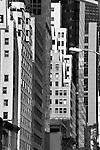 Vertical landscape New York