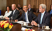 United States President Barack Obama participates in a meeting with  President XI Jinping China an official State Visit at the White House in Washington, DC on Friday, September 25, 2015.<br /> Credit: Chris Kleponis / Pool via CNP