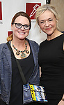 Jennifer Laura Thompson and Rachel Bay Jones attends The New Dramatists' 68th Annual Spring Luncheon at the Marriott Marquis on May 16, 2017 in New York City.