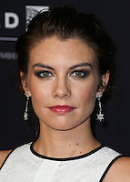 BEVERLY HILLS, CA, USA - OCTOBER 30: Lauren Cohan arrives at the 2014 BAFTA Los Angeles Jaguar Britannia Awards Presented By BBC America And United Airlines held at The Beverly Hilton Hotel on October 30, 2014 in Beverly Hills, California, United States. (Photo by Xavier Collin/Celebrity Monitor)