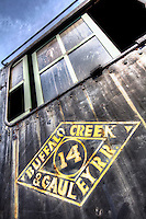 Railroad and train images of the B&O Railroad and CSX Railroad of Baltimore, Maryland, Virginia, West Virginia,  Includes railroad locomotives, railroad cars, and engineering details.