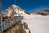 Sphinx observatory platform, Jungfrau Top of Europe. Switzerland