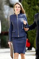 Princess Letizia of Spain Attends 'Discapnet Awards' 2013