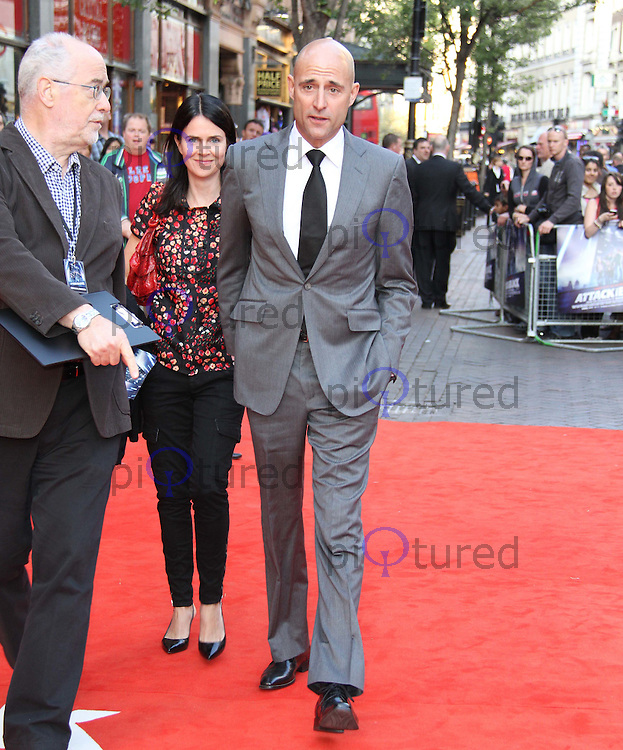Liza Marshall; Mark Strong Attack The Block - UK Premiere | Celebrity ...