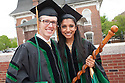 Tyler Stewart, left, Shetal Patel. Commencement class of 2013.
