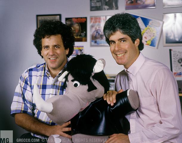 - 1990: Record label executives Richard Foos and Harold Bronson