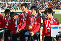 Oita team group, JANUARY 7, 2012 - Football /Soccer : 90th All Japan High School Soccer Tournament semi-final between Oita 1-2 Ichiritsu Funabashi at National Stadium, Tokyo, Japan. (Photo by YUTAKA/AFLO SPORT) [1040]