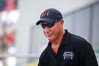 Sep 25, 2016; Madison, IL, USA; NHRA top fuel driver Pat Dakin during the Midwest Nationals at Gateway Motorsports Park. Mandatory Credit: Mark J. Rebilas-USA TODAY Sports