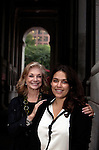SMU Meadows alum Stephanie Brown and her mentor, Joanne Leonhardt Cassullo, former Meadows student in art history, photographed close to the New York City Department of Cultural Affairs in New York, NY on September 04, 2012.