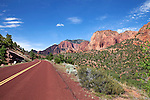 The Kolob Canyons area of Zion National Park in southwestern Utah, USA