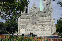 Nidarosdomen, the cathedral of Trondheim, Norway.