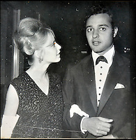 BNPS.co.uk (01202 558833)<br /> Pic: DominicWinter/BNPS<br /> <br /> Jill Haworth &amp; Sal Mineo.<br /> <br /> A remarkable set of 430 candid photographs of Hollywood royalty have been unearthed after 50 years.<br /> <br /> Included in the collection of unpublished pictures are snaps of silver screen icons Paul Newman, Charlie Chaplin, Bette Davis, Audrey Hepburn, and Dean Martin.<br /> <br /> Paul Newman is captured looking over his shoulder at the wheel of his car and Charlie Chaplin is pictured without his trademark moustache. <br /> <br /> Audrey Hepburn has posed with her then husband actor Mel Ferrer while Bette Davis can be seen puffing on a cigarette.<br /> <br /> The snaps were taken by obsessive amateur photographer Dwight 'Dodo' Romero from 1954 to 1967 who would hang around at Hollywood parking lots and other hang-outs to catch a glimpse of the stars.<br /> <br /> The photos, which more recently belonged to a book dealership in York, have emerged for auction and are tipped to sell for &pound;800.