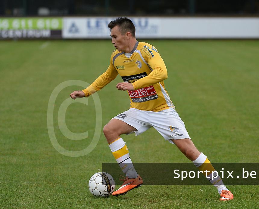 SC Wielsbeke :  Mathieu Vlieghe <br /> Foto VDB / Bart Vandenbroucke