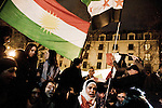 Syrian protest in Paris on december 17th 2011