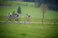 Liege-Bastogne-Liege 2012.98th edition..up the Cote de Wanne