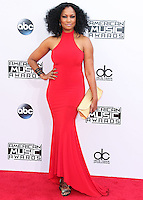 LOS ANGELES, CA, USA - NOVEMBER 23: Garcelle Beauvais arrives at the 2014 American Music Awards held at Nokia Theatre L.A. Live on November 23, 2014 in Los Angeles, California, United States. (Photo by Xavier Collin/Celebrity Monitor)