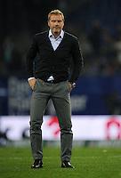 FUSSBALL   1. BUNDESLIGA    SAISON 2012/2013    8. Spieltag   Hamburger SV - VfB Stuttgart            21.10.2012 Trainer Thorsten Fink (Hamburger SV) ist nach dem Abpfiff enttaeuscht