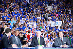 Fans go crazy during ESPN College GameDay at Rupp Arena on Saturday. Photo by Zach Brake | Staff.
