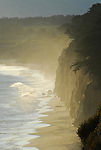 Cliffs in late afternoon near Ano Nuevo