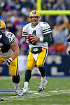 5 November 2006: Green Bay Packers quarterback Brett Favre (4) in action against the Buffalo Bills at Ralph Wilson Stadium in Orchard Park, NY. The Bills defeated the Packers 24-10. Mandatory Photo Credit: Ed Wolfstein Photo.<br />
