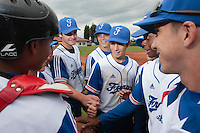 18 August 2010: Players gather during the France 7-3 win over Ukraine, at the 2010 European Championship, under 21, in Brno, Czech Republic.