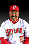 25 February 2007: Washington Nationals Bullpen Coach Rick Aponte poses for his Photo Day portrait at Space Coast Stadium in Viera, Florida.<br /> <br /> Mandatory Photo Credit: Ed Wolfstein Photo<br /> <br /> Note: This image is available in a RAW (NEF) File Format - contact Photographer.