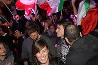 Firenze, 08 Dicembre 2013 - Teatro Obi Hall Primarie PD. Matteo Renzi segretario PD.