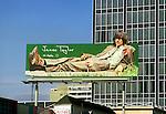 James Taylor billboard on the Sunset Strip circa 1973