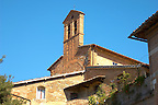 Romanesque Chapel - San Gimignano - Italy