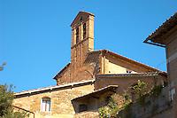 Romanesque Chapel - San Gimignano - Italy