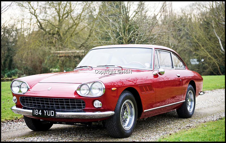 BNPS.co.uk (01202 558833)<br /> Pic: H&amp;H/BNPS<br /> <br /> 1965 Ferrari 330 GT 2+2 estimated at &pound;240,000. <br /> <br /> A stunning sports car owned by David Beckham has emerged in a sale of eleven Ferraris - making a whole football team of motors. <br /> <br /> Golden Balls owned the 360 Spider in the early noughties when he was at the peak of his powers ahead of a big money move to Real Madrid. <br /> <br /> Becks, a renowned car nut, kitted the 2001 motor out with an F1-style gearbox, carbon fibre backed racing seats, tinted windows and custom bodywork.<br /> <br /> The car's combined worth is a whopping &pound;2,200,000.